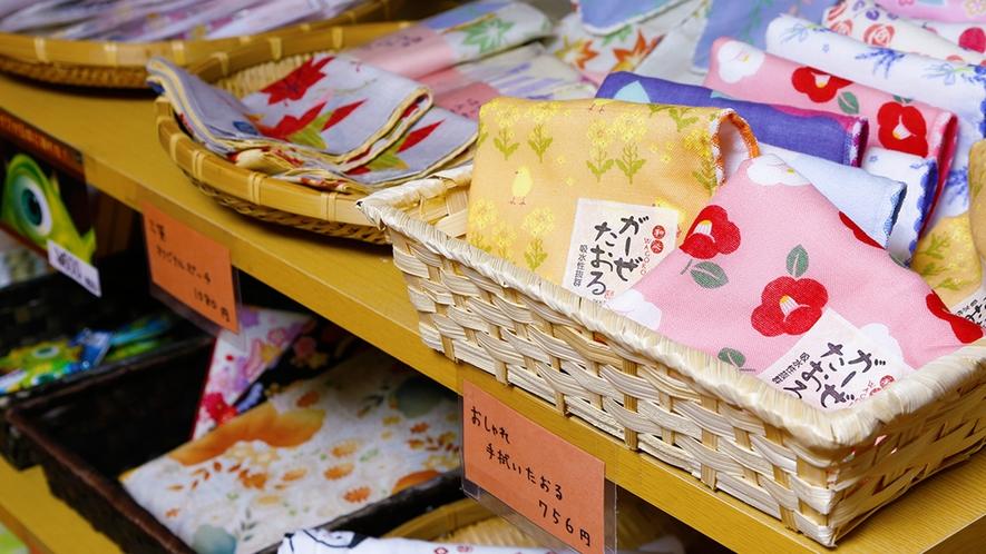 """""""京都限定""""のかわいいお土産もご用意しております。ご友人や、ご自身の旅の想い出にどうぞ♪"""