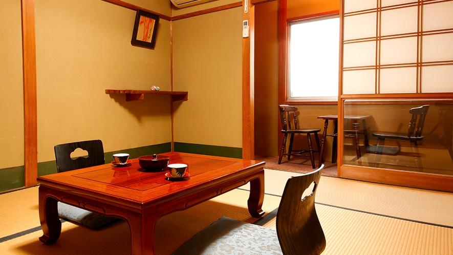 ◆本館和室-6畳◆こじんまりと、リーズナブルに楽しみたい方にぴったりのお部屋
