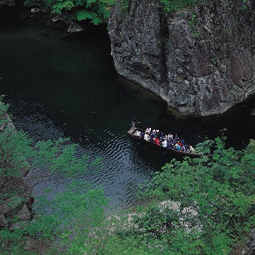 【三段峡】西日本でも有数の渓谷美を誇ります