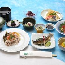 【深入膳一例(夏)】少し贅沢な夕食プランになります