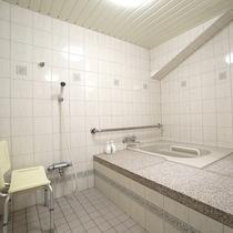 【4階バリアフリー和洋室】手すり付の浴室を完備