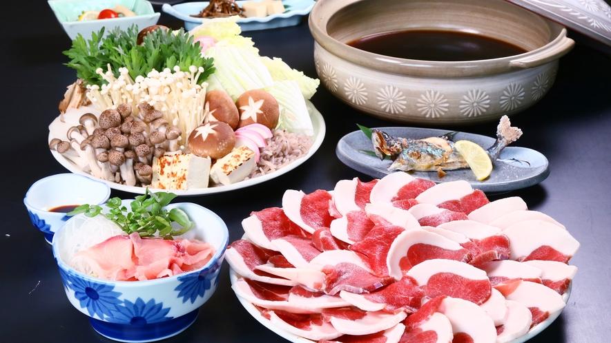 しし鍋 ◆あれもこれも食べたいお客様にオススメプランです!