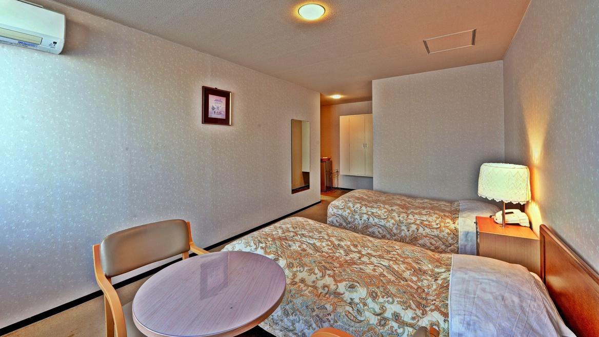 *【客室例(ツイン)】カップル・ご友人同士でのお泊りに最適。