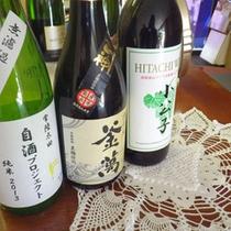 *【日本酒】当館オリジナルのお酒もございます。