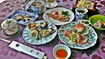*【夕食例】旬の味覚がつまったお食事を満喫。