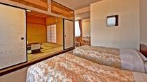 *【客室例(和洋室)】ご家族・グループでのご旅行にピッタリの和洋室。