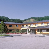 *【外観】比婆道後帝釈国定公園に指定されている道後山の中に位置する宿泊施設です。