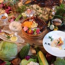 最上級の食喜菜彩会席 和歌山のうまいもん満載