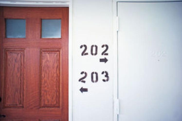 お部屋ドア