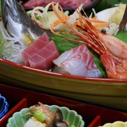 料理(舟盛り)