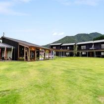*【外観】2013年7月に新しくオープン!敷地内で温泉やお買物、体験が楽しめます♪