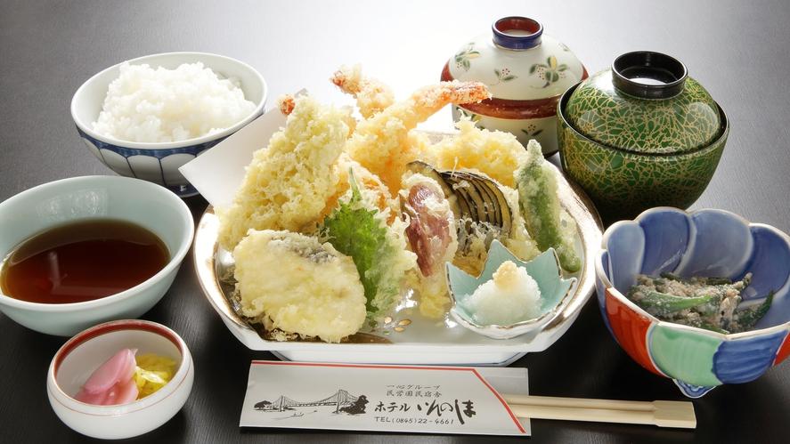 *【天ぷら定食】一例