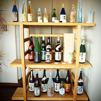 各種、地酒もご用意しております。