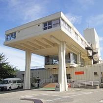 しまなみ海道を見下ろす天狗山・因島公園内にある当館☆