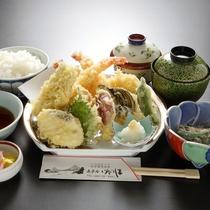 【天ぷら定食】一例
