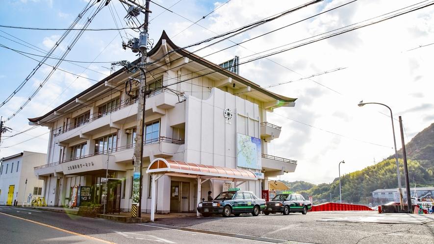 *土生港◆しまなみ海道でつながっていない島へはこちらの港からおでかけいただけます