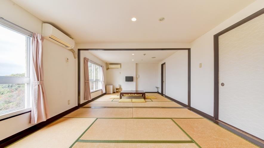 *和室12畳◆広々とご利用いただける和室はゆったりとくつろげるやすらぎの時間をご提供します