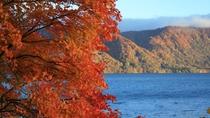 *美しい紅葉と十和田湖のコラボレーション★ぜひ写真に納めてくださいね。