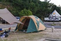 キャンプAサイト