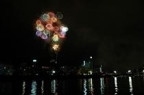 ミニ花火大会(毎年夏に開催)