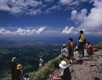 大山登山-頂上から見る中国地方最高峰からの絶景はサイコー♪