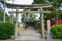 温泉街にある皆生温泉神社-長寿の神様