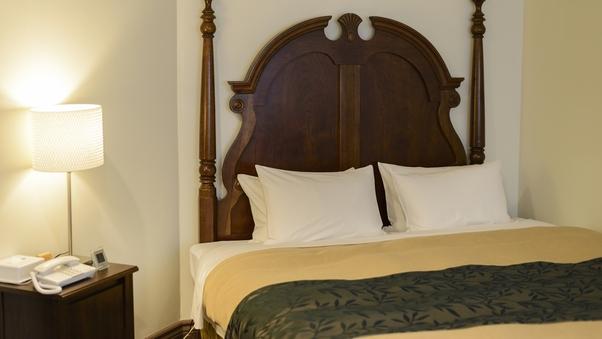 ダブル ベッド幅180cm×1 (禁煙)