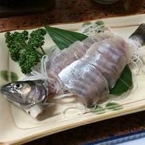 *岩魚のお造り(お料理イメージ)
