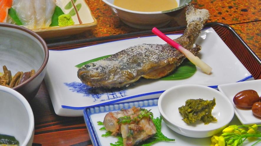 *ニジマスの塩焼き(お料理イメージ)