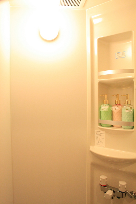 男女別シャワーボックス