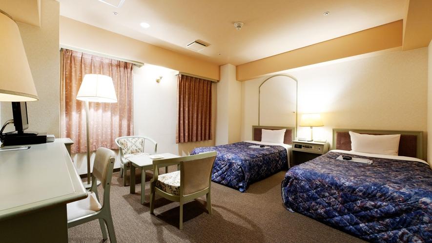 【DXツインルーム】ベッド幅115cm×200cm×2台