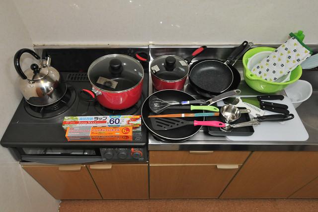 【ゆくりなリゾート】調理器具いろいろ