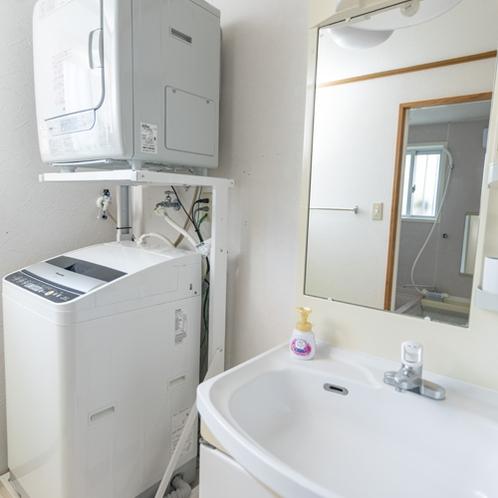 うりずんルーム洗濯機・ガス乾燥機