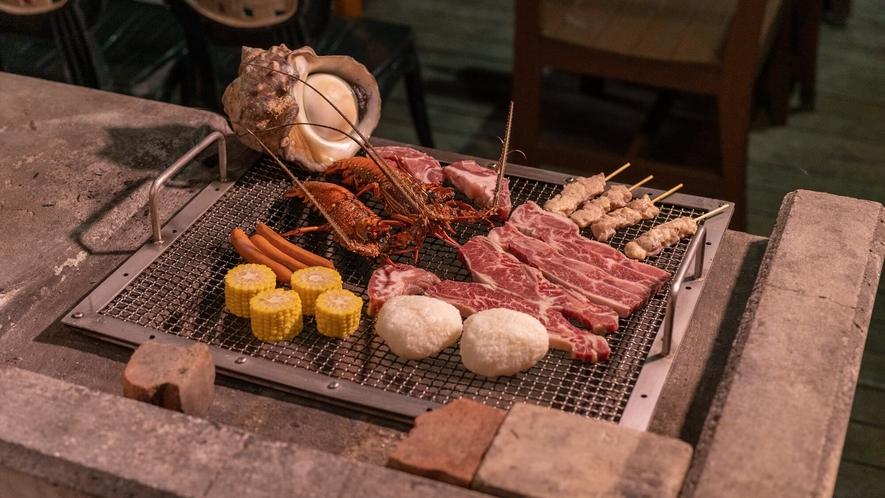 〇BBQイメージ画像※食材、木炭、調味料等は各自でご用意ください。