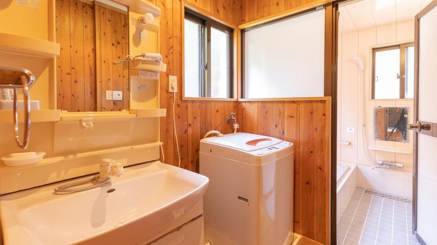 〇尾西(ウニシ) 洗面台・洗濯機完備※洗濯洗剤・洗面用具等は各自でご用意ください。