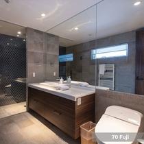 *5ベッドルーム【Fuji】/バスルーム・トイレ(一例)
