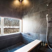 *3ベッドルームハウス/バスルーム(一例)※3ベッドルームスタンダードはエアコンは付いておりません