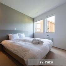 *4ベッドルーム【Yuzu】/ベッドルーム(一例)
