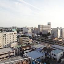 【お部屋からの眺め】牛久駅♪