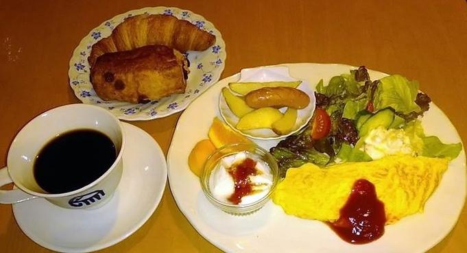 朝食付きプラン(朝食、アメニティ、風呂付)