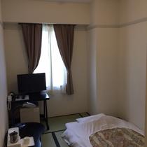 和室シングル☆5畳☆最上階確約のお部屋です♪