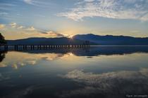 野尻湖の朝は最高。