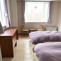 *ツインルーム/各お部屋ごとに異なるテイストが楽しめます。