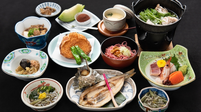 全10〜12品/スタンダードコース(和食)旬の味覚と天然温泉で疲れを癒そう◆2食付