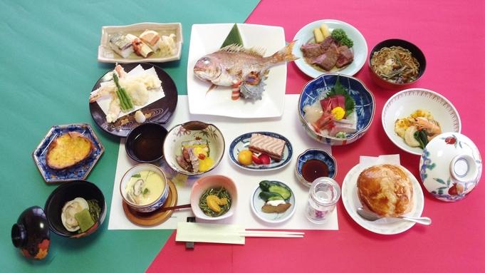 全13〜14品/満足コース♪和料理で地元の旬を満喫◆2食付き