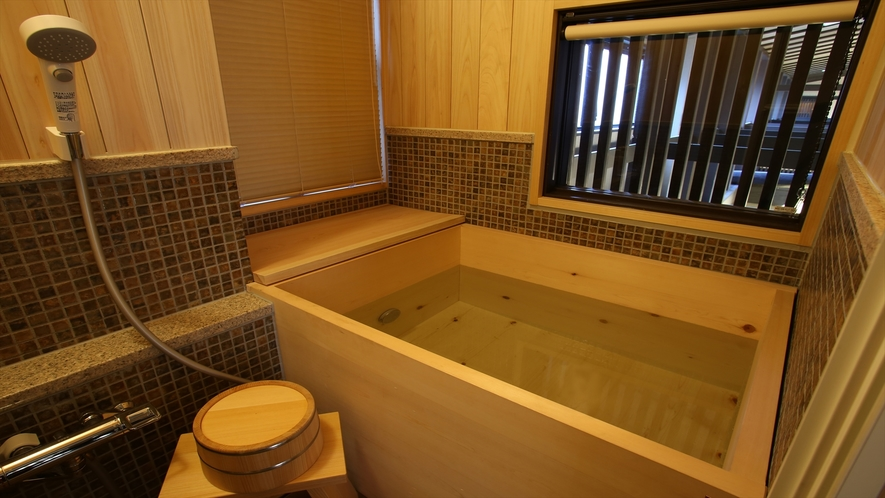 B201号室 部屋風呂