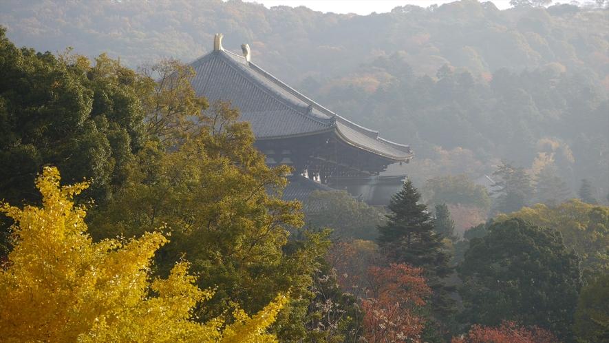 秋の東大寺