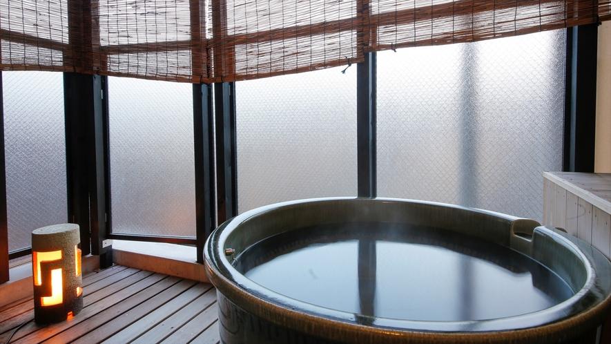 B303号室 露天風呂例