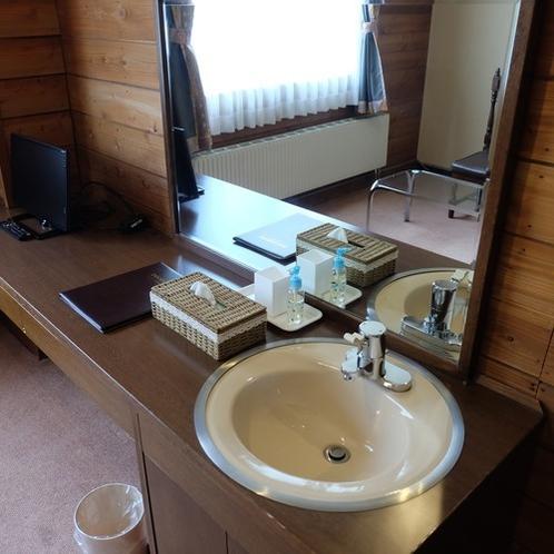 シングルルーム洗面台