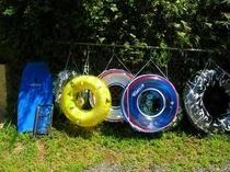浮き輪・ボディボード・キャリーカー・ござ・レンタル無料です。